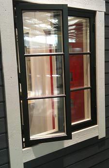träfönster pvc aluminiumfönster takfönster